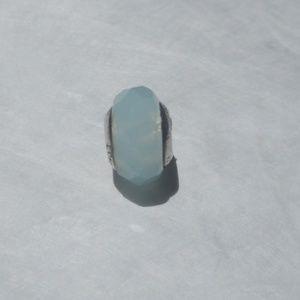 Genuine Lovelinks Charm, Murano Glass, Blue-Green
